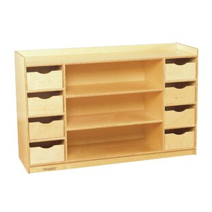 8 Compartment Shelving Unit With Bins By Childcraft