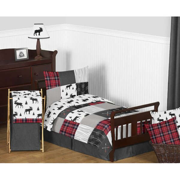 Rustic Patch 5 Piece Toddler Bedding Set by Sweet Jojo Designs