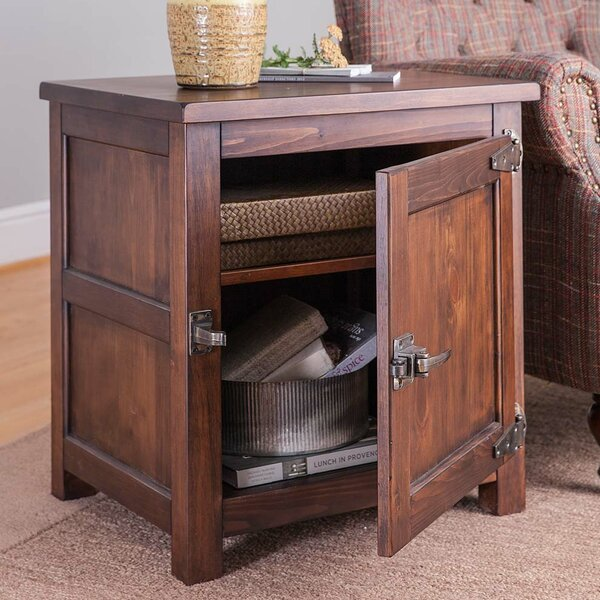 Portland Ice Box End Table by Plow & Hearth