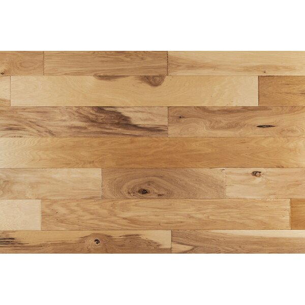 Tevis 6 Engineered Hickory Hardwood Flooring in Natural by Union Rustic