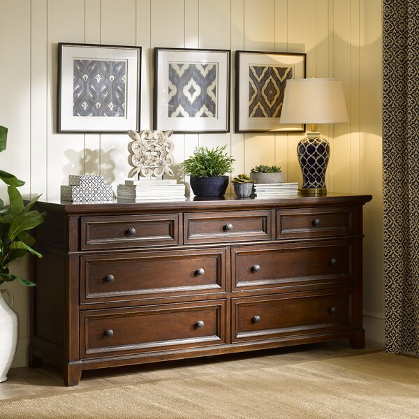 Montclair 7 Drawer Double Dresser by Harbor House Harbor House