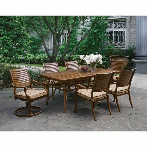 Covell Solid + Manufactured Wood Dining Table by Fleur De Lis Living