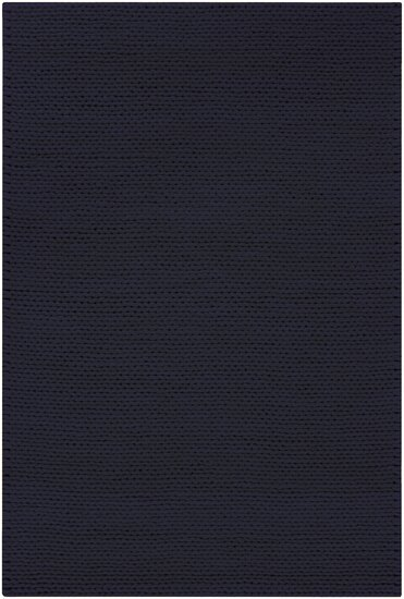 Jaxton Navy Gray Area Rug by Bungalow Rose