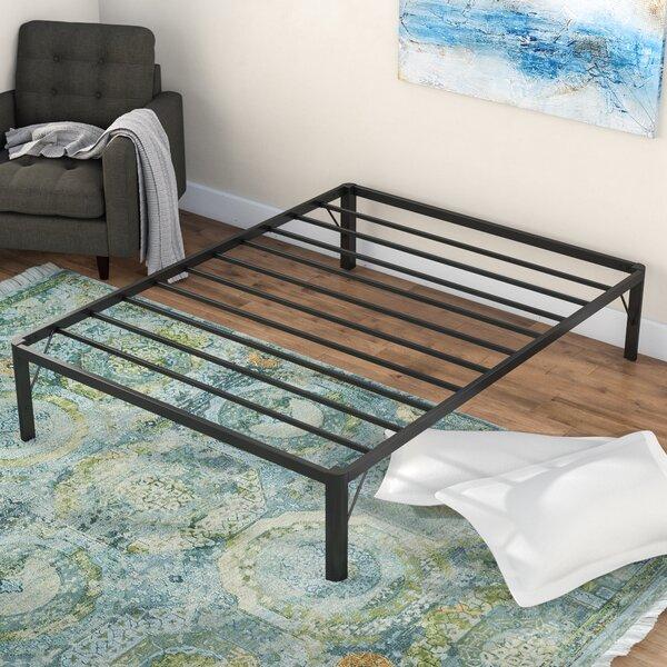 Dura Metal Steel Slate Bed Frame by Alwyn Home