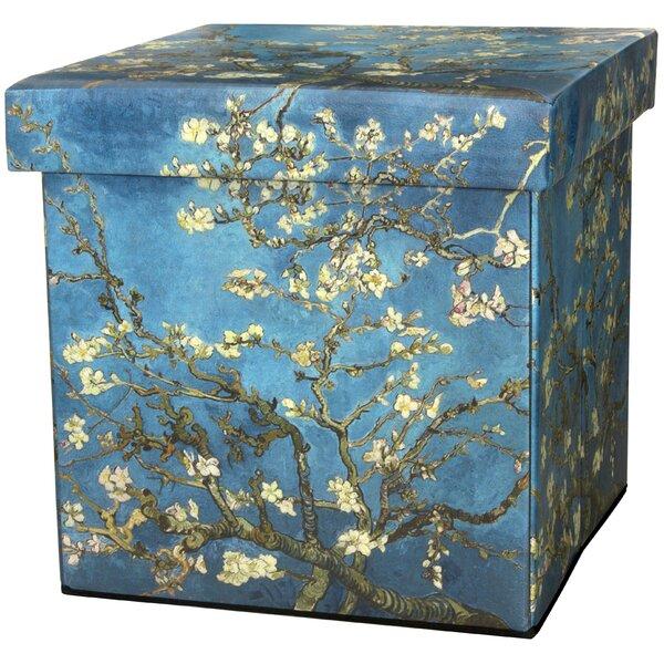 Van Gogh Storage Ottoman by Oriental Furniture