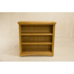 Cusack 2 Shelf Traditional Standard Bookcase