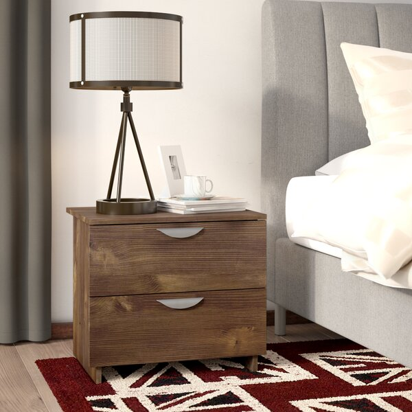 Mccraw 2 Drawer Nightstand by Trent Austin Design