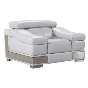 Hawkesbury Common Luxury Italian Living Room Club Chair By Orren Ellis