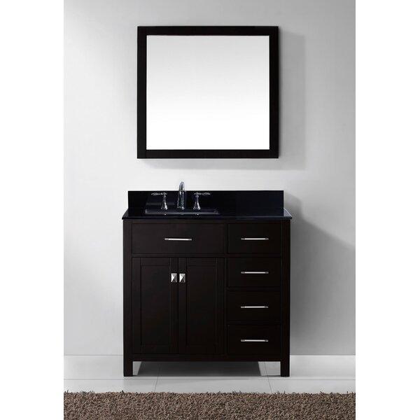 Savitsky 37 Single Bathroom Vanity Set with Mirror
