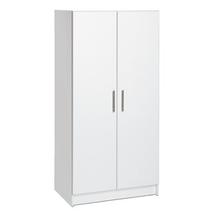 Elite Storage 65 H x 32 W x 20 D Wardrobe Cabinet by Prepac