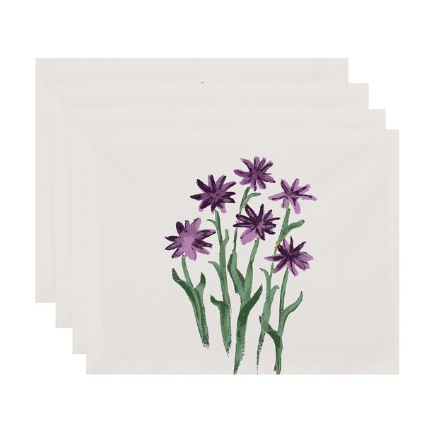 Laymon Daffodils Placemat (Set of 4) by Gracie Oaks