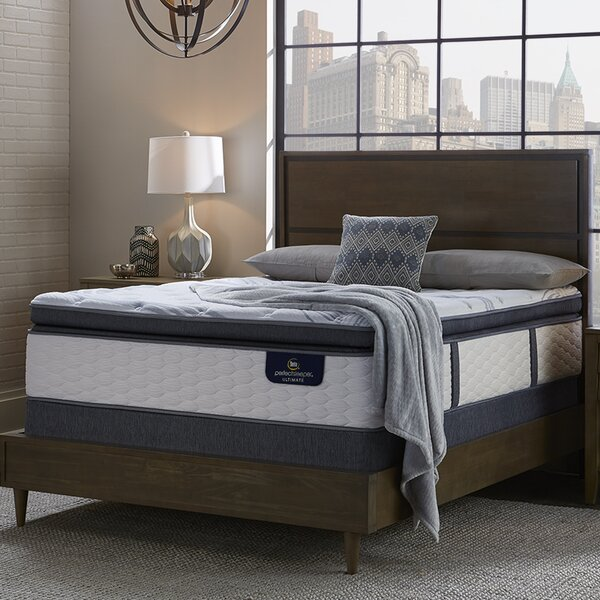 Perfect Sleeper 14 Plush Pillow Top Mattress and Adjustable Base by Serta
