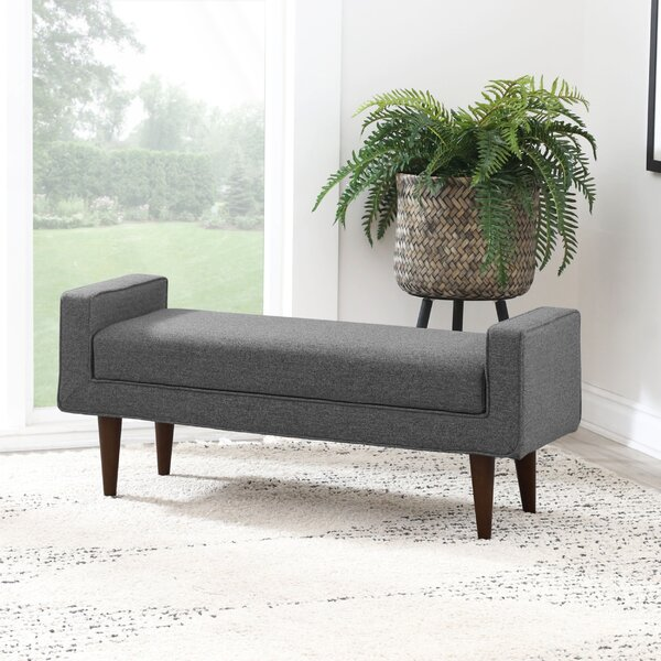 Niord Upholstered Flip Top Storage Bench by Latitude Run
