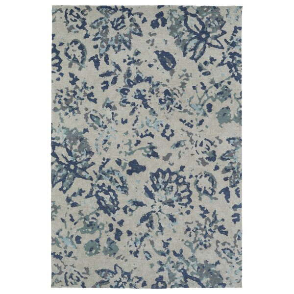 Roan Blue/Gray Area Rug by Bungalow Rose