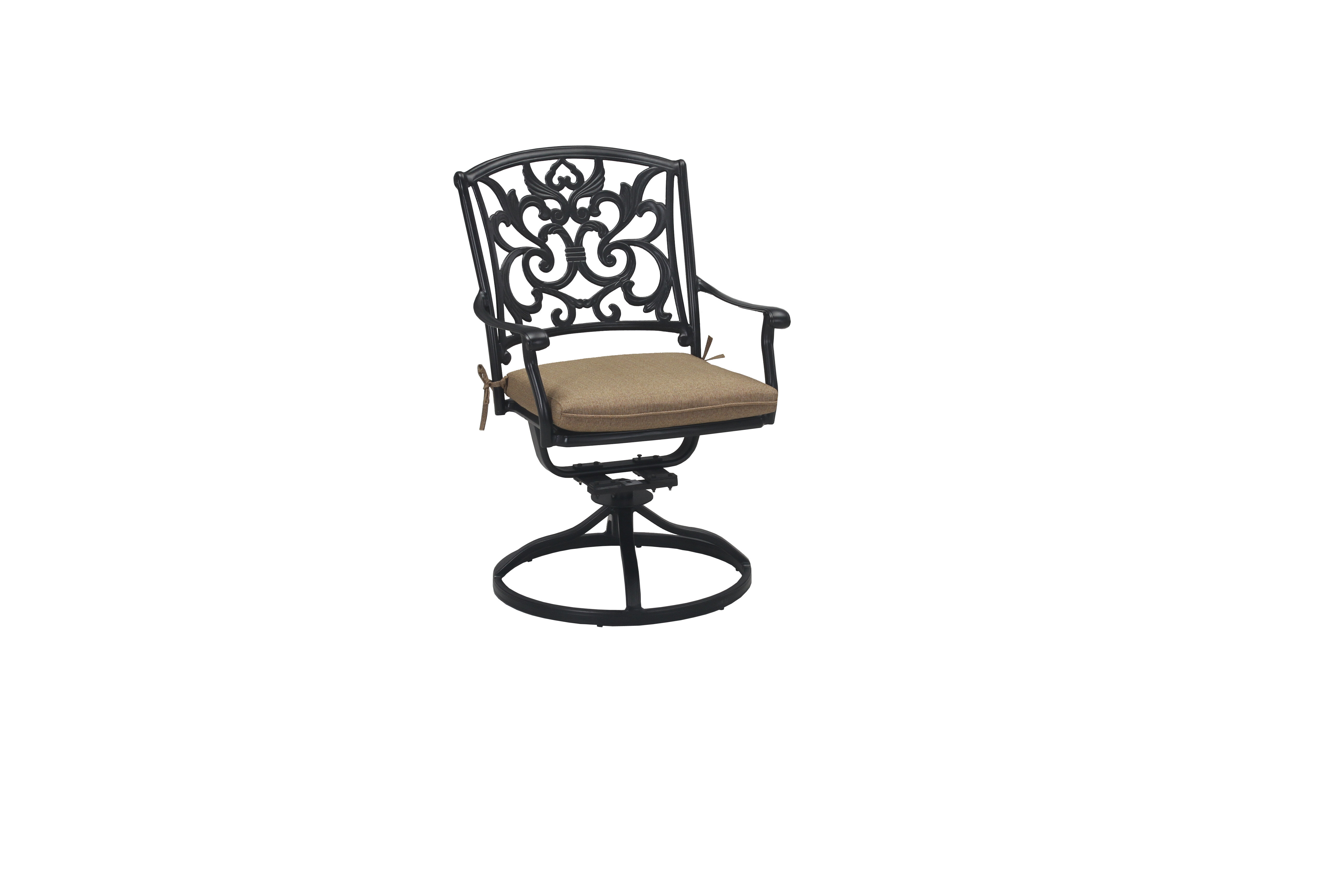 Cardin Swivel Rocking Chair with Cushions