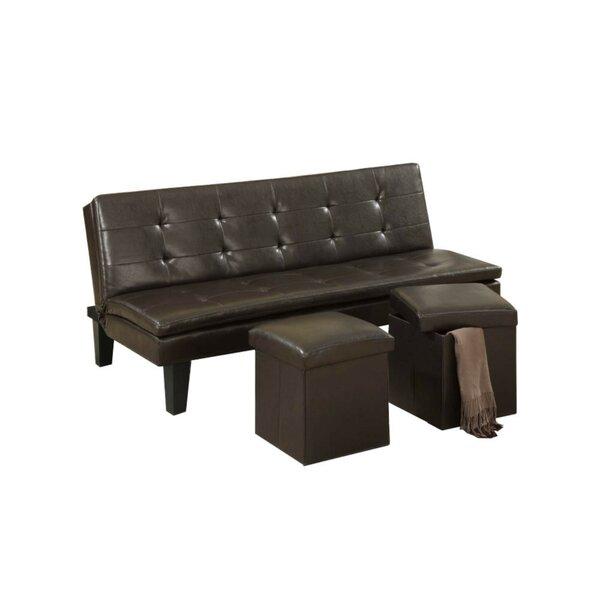 Gammon Convertible Sofa by Ebern Designs