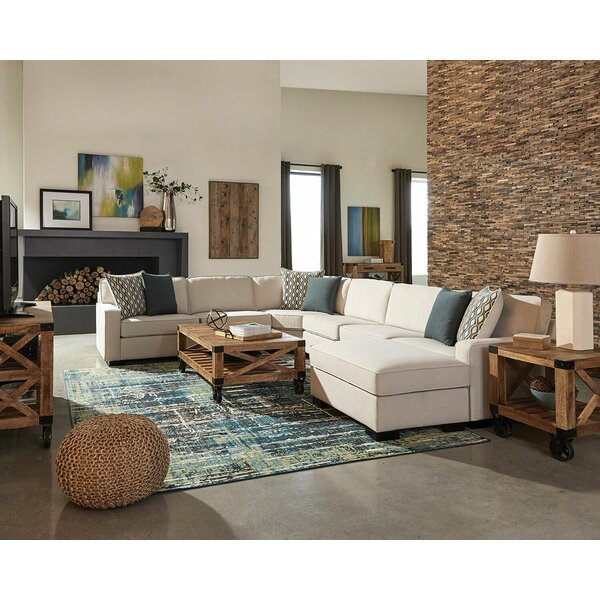 Great Falls Reversible Modular Sectional with Ottoman by Brayden Studio