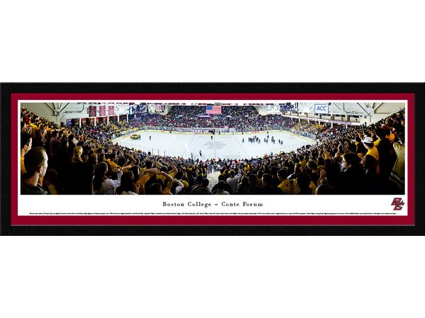 NCAA Boston College - Hockey by Christopher Gjevre Framed Photographic Print by Blakeway Worldwide Panoramas, Inc