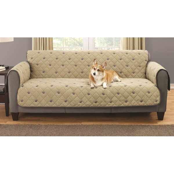 Sofa Embroidered Furniture Pet Protector With Non Slip Backing By South Bay.