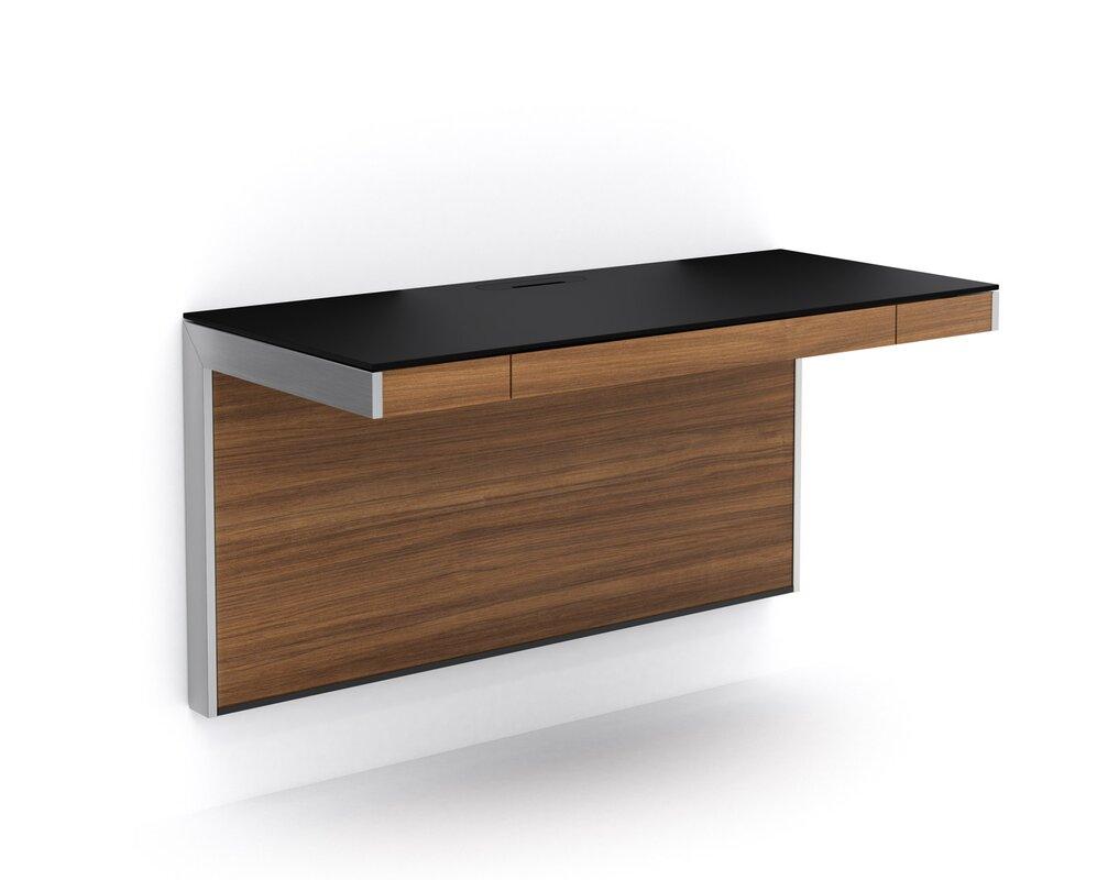 Design Wall Mounted Desk floating desks youll love wayfair sequel wall mounted desk