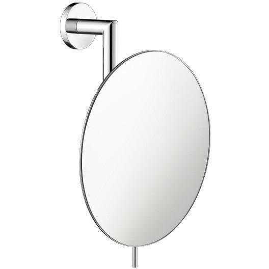 Korman Round Adjustable Makeup/Shaving Mirror by Symple Stuff