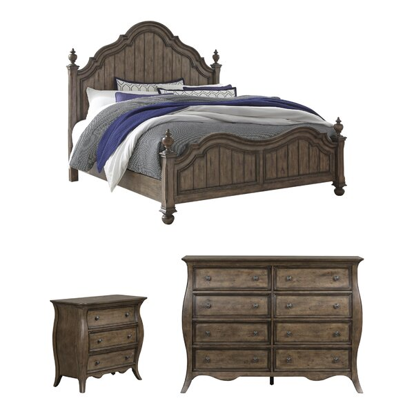 Toni Standard Configurable Bedroom Set by One Allium Way