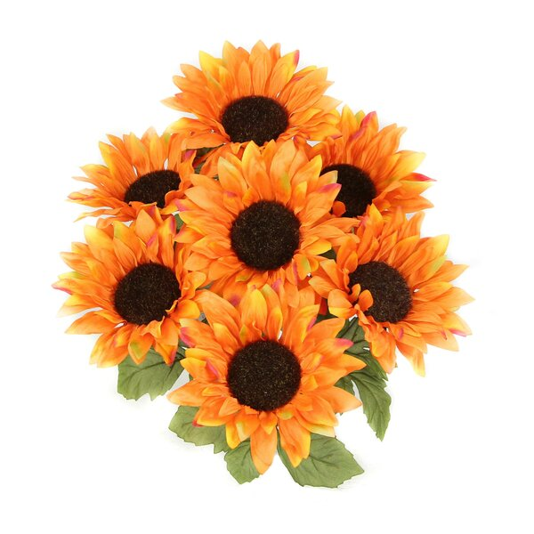 7 Stems Atrtificial Blooms Sunflower by Admired by Nature