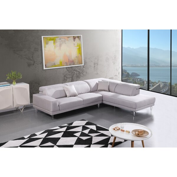 Veans Sectional by Orren Ellis
