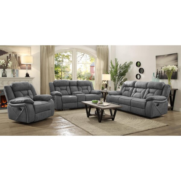 Estevao Motion 3 Piece Reclining Living Room Set By Latitude Run