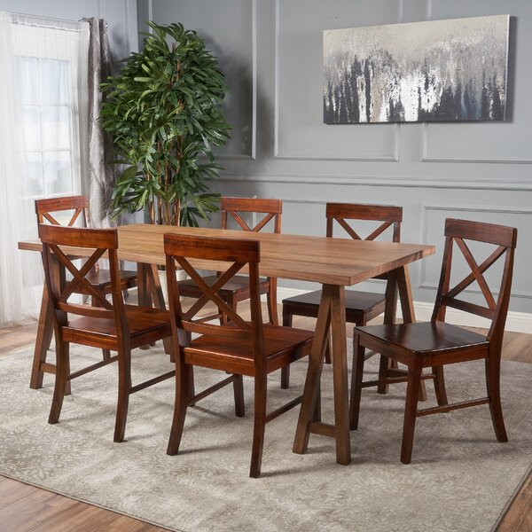Williamsville Solid Wood Dining Set by Darby Home Co