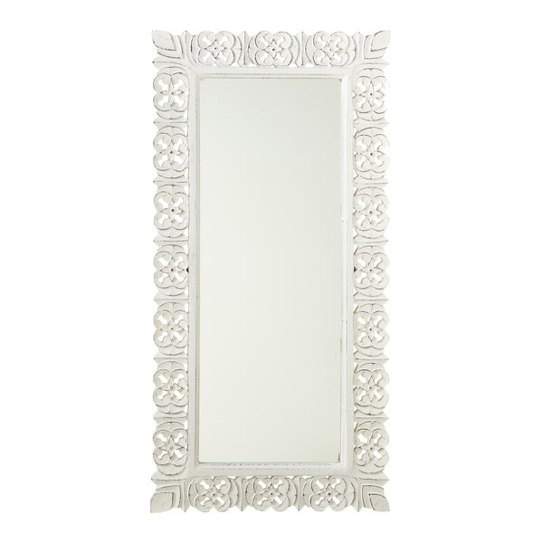 Wellston Carved Frame Full Length Mirror by Ophelia & Co.