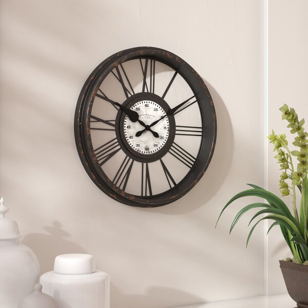 17.5 Open Back Wall Clock by Darby Home Co