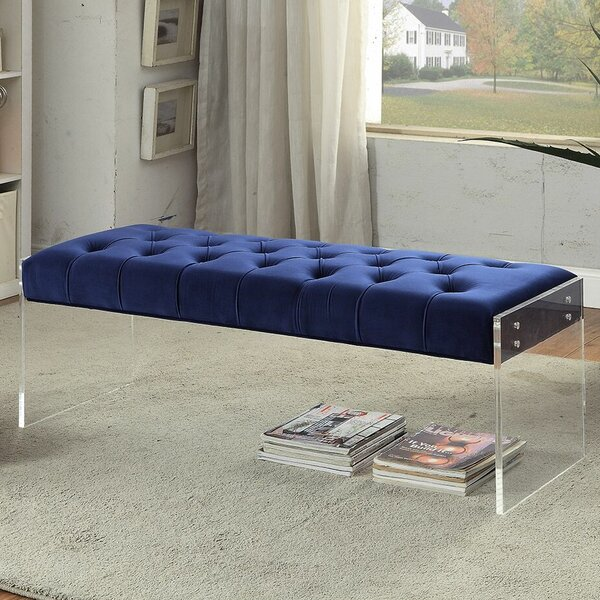 Diana Upholstered Bench By Everly Quinn