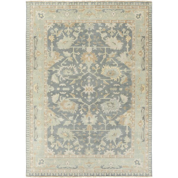 Bismarck Cappadocia Slate/Sea Foam Area Rug by One Allium Way