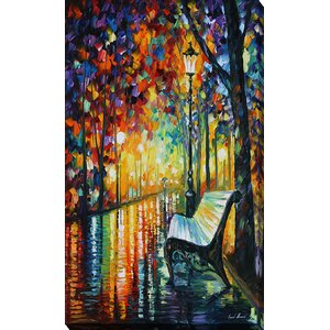 She Left by Leonid Afremov Painting Print on Wrapped Canvas by Picture Perfect International