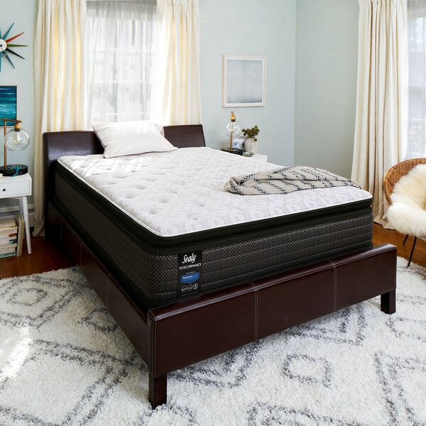 Response™ Performance 14'' Plush Pillowtop Mattress and 9 Box Spring by Sealy