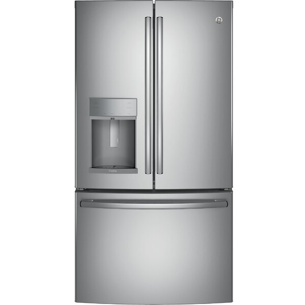 22 cu. ft. Energy Star® Counter-Depth French-Door Refrigerator by GE Profile™