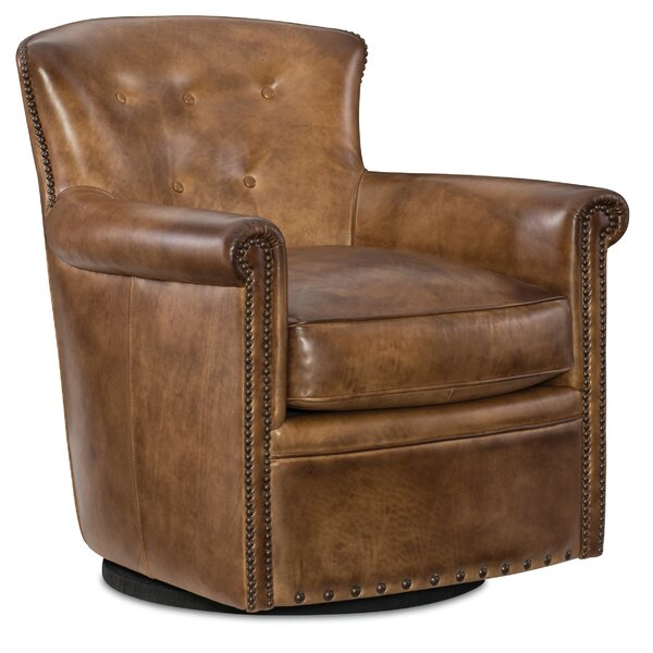 Jacob Swivel Club Chair by Hooker Furniture