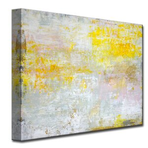 'Sun in My Eyes' by Norman Wyatt Jr. Painting Print on Wrapped Canvas by Ready2hangart