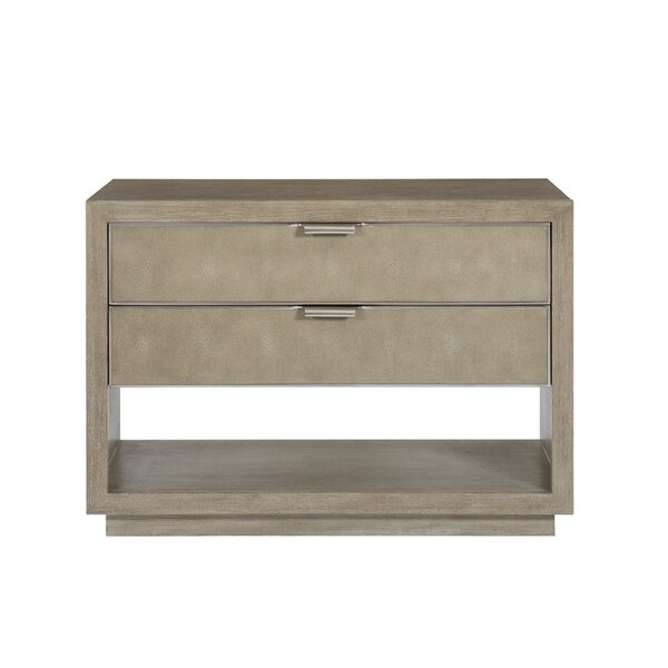 Mosaic 2 Drawer Bachelors Chest by Bernhardt