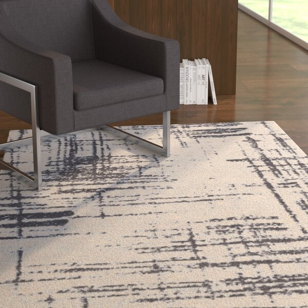 Wilde Gray/Charcoal Area Rug by Latitude Run