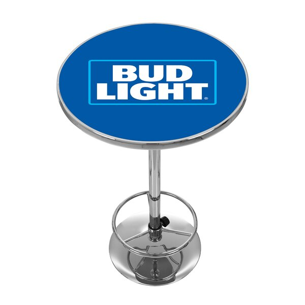 Bud Light Pub Table I by Trademark Global