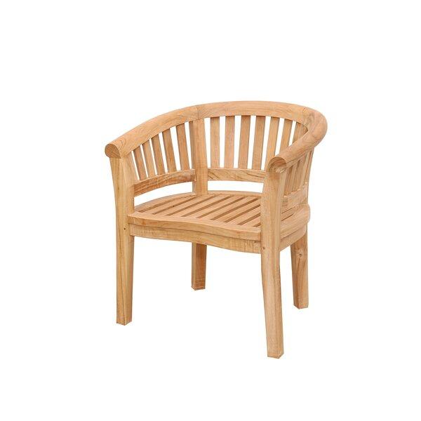 Curve Teak Arm Adirondack Chair by Anderson Teak