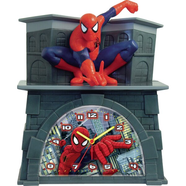 Spider-Man Alarm Clock by Ashton Sutton