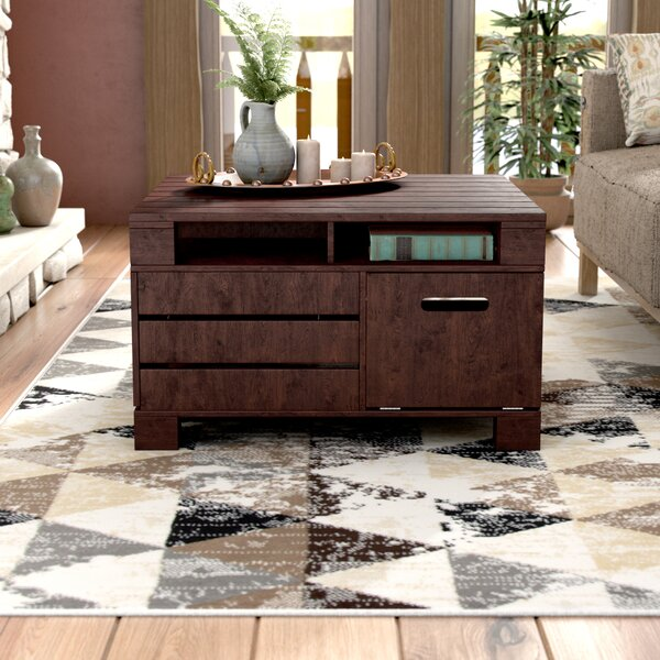Galloway Coffee Table With Storage By Loon Peak