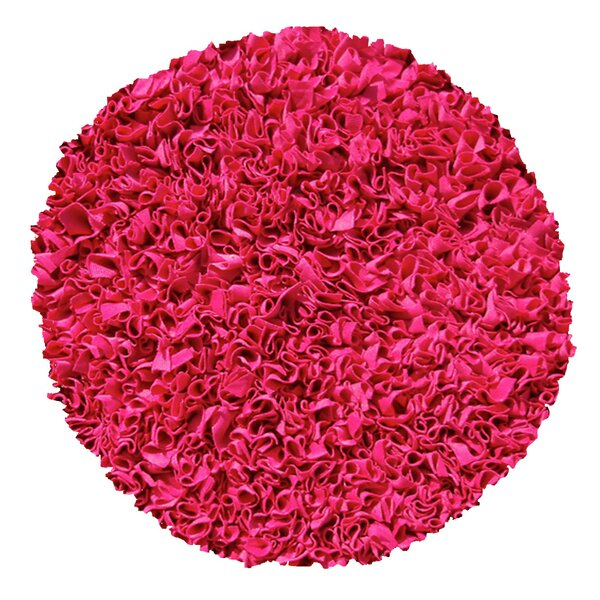 Hand-Woven Raspberry Area Rug by The Conestoga Trading Co.