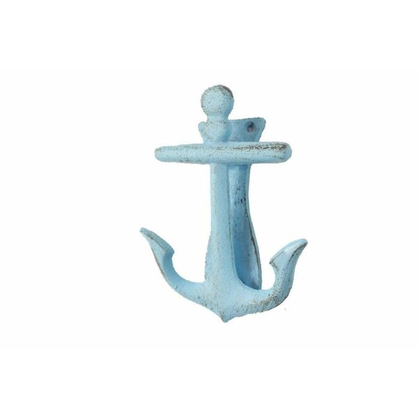Cast Iron Decorative Anchor Door Knocker by Handcrafted Nautical Decor