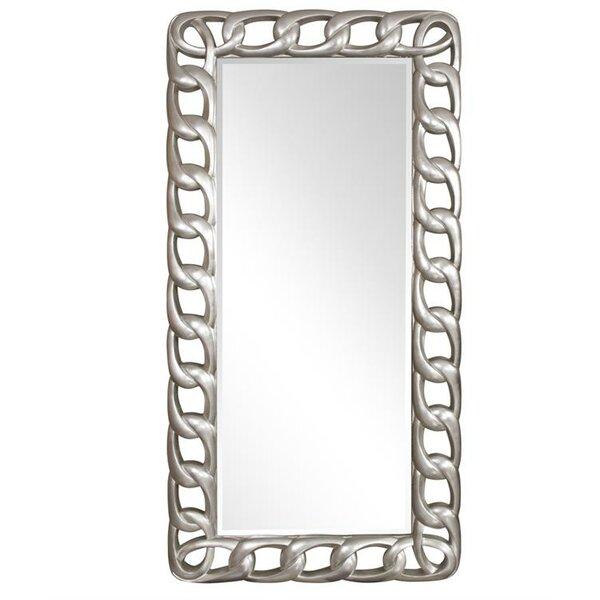 Chainlink Wall Mirror by Latitude Run