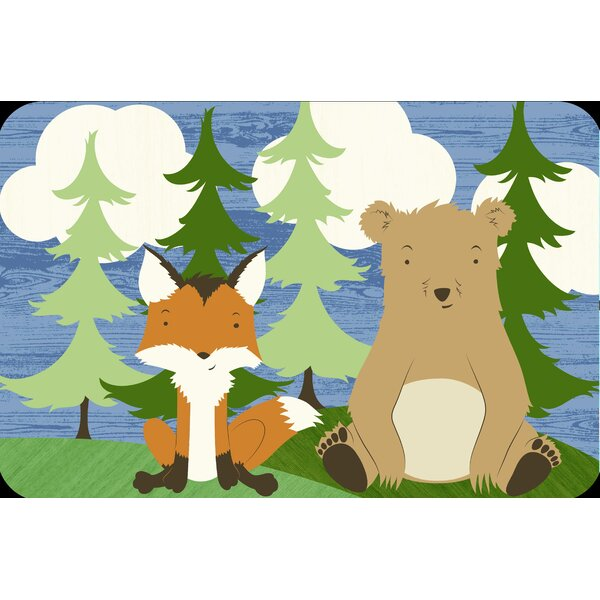 Forest Friends Juvenile Vinyl Placemat (Set of 6) by Elrene Home Fashions