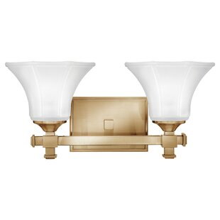Reviews Marchienne 2-Light Vanity Light By House of Hampton